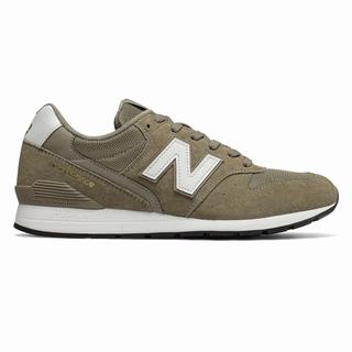 996 New Balance Suede Mens Casual Shoes Khaki White (PUXC3248)