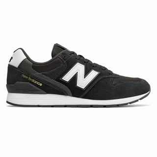 996 New Balance Suede Mens Casual Shoes Black White (WHSK1843)
