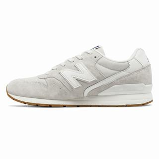996 New Balance Suede Mens Casual Shoes Grey White (RNCL4071)