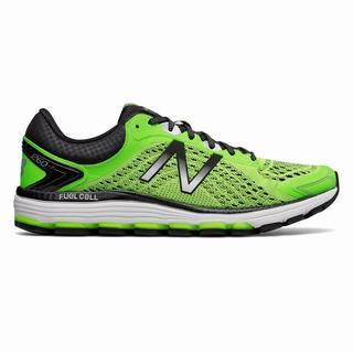 New Balance 1260v7 Mens Running Shoes Light Green Black (WNBS1178)