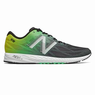 New Balance 1400v6 Mens Running Shoes Black Turquoise (RHQS1163)