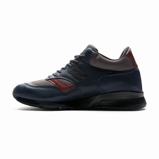 New Balance 1500 Made in UK Mens Casual Shoes Navy Grey Burgundy (JETI6298)