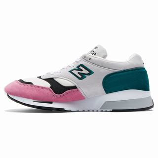 New Balance 1500 Made in UK Mens Casual Shoes White Pink (LXZT7431)