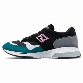 New Balance 1500 Made in UK Mens Casual Shoes Black Green Grey (PJFO3619)