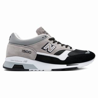 New Balance 1500 Made in UK Mens Chunky Trainers Grey Black (ZCAY5525)