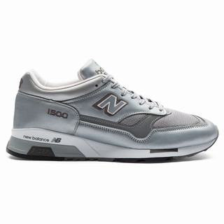 New Balance 1500 Made in UK Mens Chunky Trainers Silver White (NGXQ1935)