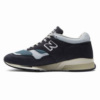 New Balance 1500 Made in UK Nubuck Mens Chunky Trainers Navy Grey Blue (VAGJ4464)