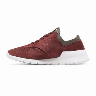 New Balance 1978 Made in US Mens Casual Shoes Burgundy Dark Grey (OFSZ5735)