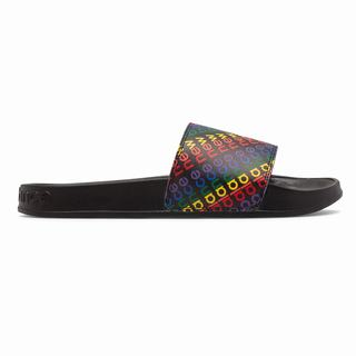 New Balance 200 Pride Pack Womens Sandals Black Multicolor (SWPG1659)
