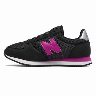 New Balance 220 Kids Casual Shoes Black Pink (WZOS9500)