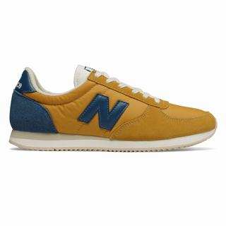 New Balance 220 Mens Casual Shoes Gold Blue (KWAE5636)