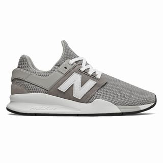 New Balance 247 Deconstructed Mens Casual Shoes Grey White (WMQY5280)