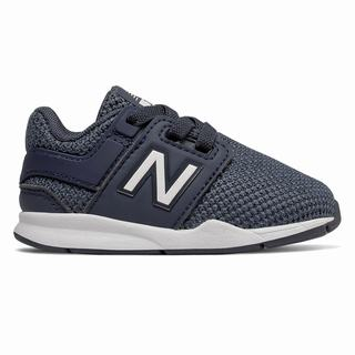 New Balance 247 Kids Casual Shoes Navy White (MNEQ8827)