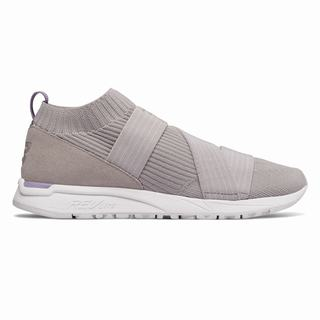 New Balance 247 Knit Womens Casual Shoes Grey (JKYU5767)
