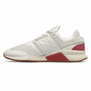 New Balance 247 Mens Casual Shoes Beige Red (AYIN6293)