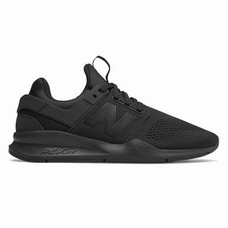 New Balance 247 Mens Casual Shoes Black (OWQM6029)