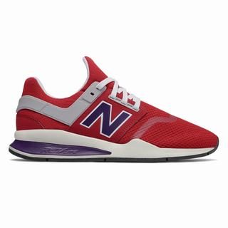 New Balance 247 Mens Casual Shoes Brown Red Purple (XRUO8708)