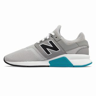 New Balance 247 Mens Casual Shoes Grey Black (YXBW1130)