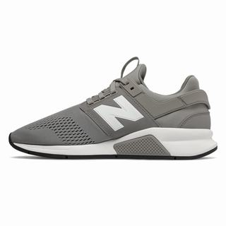 New Balance 247 Mens Casual Shoes Grey White (RKWE7624)
