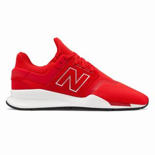 New Balance 247 Mens Casual Shoes Red White (GHMC9259)