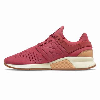 New Balance 247 Mens Casual Shoes Red (VFJI9821)