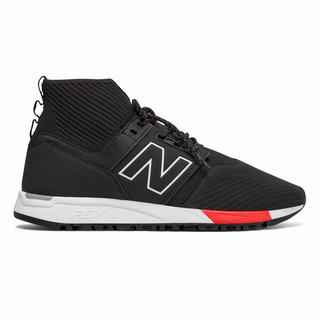 New Balance 247 Mid Mens Casual Shoes Black White (RJSP5127)