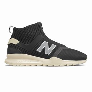 New Balance 247 Mid Mens Casual Shoes Black Beige (AOWK1412)