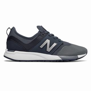 New Balance 247 Sport Kids Casual Shoes Grey Silver (LGPB3564)