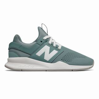 New Balance 247 Womens Casual Shoes Blue White (ELXK9204)