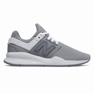 New Balance 247 Womens Casual Shoes Grey White (IAKF3540)
