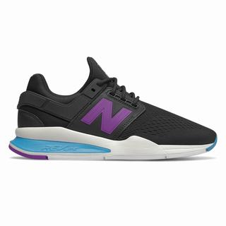 New Balance 247 Womens Casual Shoes Black Blue (ZPTO1894)