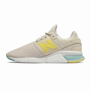 New Balance 247 Womens Casual Shoes Beige Yellow (BLQG3204)