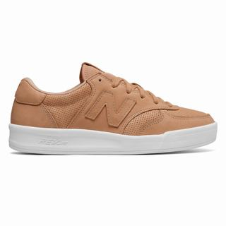 New Balance 300 Leather Womens Casual Shoes Apricot (DIFM4766)