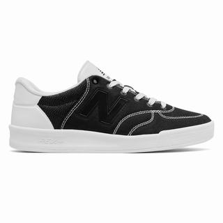 New Balance 300 Suede Mens Casual Shoes Black White White Multicolor (ESZC3996)