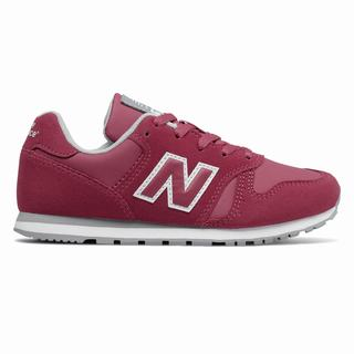 New Balance 373 Kids Casual Shoes Dark Pink Grey (MCEU7396)