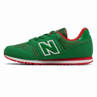 New Balance 373 Kids Casual Shoes Green (MOEF6136)