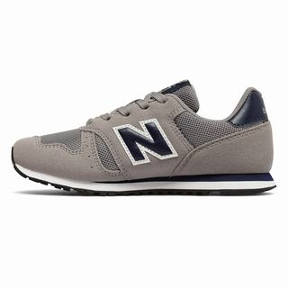 New Balance 373 Kids Casual Shoes Grey Navy (BJFZ8868)