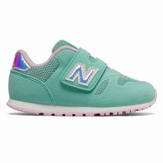 New Balance 373 Kids Casual Shoes Light Turquoise Rose (BPHR8357)