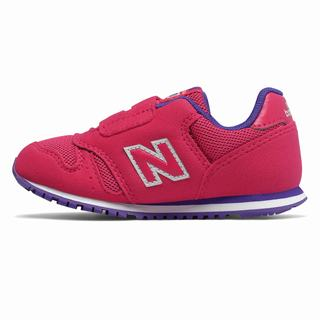 New Balance 373 Kids Casual Shoes Pink Purple (AORE8013)