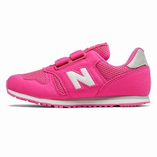 New Balance 373 Kids Casual Shoes Pink White (XVCU5054)