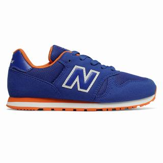 New Balance 373 Kids Casual Shoes Royal Orange (NEWR8667)
