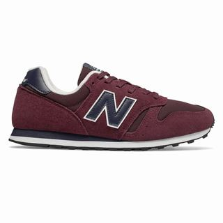New Balance 373 Mens Casual Shoes Burgundy Navy (BVKM3151)