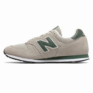 New Balance 373 Mens Casual Shoes Light Grey Green (DFUY3599)