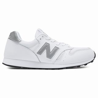 New Balance 373 Modern Classics Mens Casual Shoes White Silver (PCXE1796)