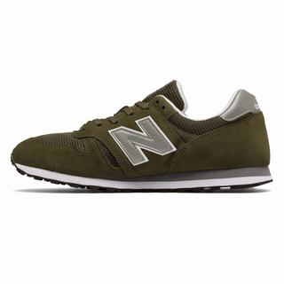 New Balance 373 Modern Classics Mens Casual Shoes Olive Silver (NRUO8612)