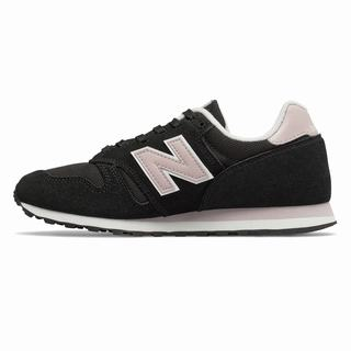 New Balance 373 Womens Casual Shoes Black Light Pink (WYBT7631)