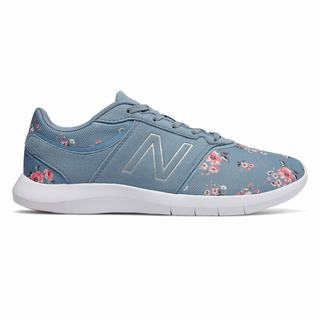 New Balance 415 X Cath Kidston Womens Casual Shoes Blue White (QFNE9685)