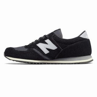 New Balance 420 Mens Casual Shoes Black White Grey (IJLC2734)