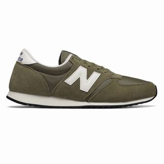 New Balance 420 Mens Casual Shoes Green White (KLIZ5269)