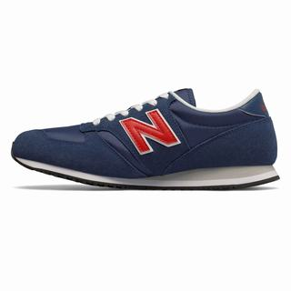 New Balance 420 Mens Casual Shoes Navy Red (YLTI6543)